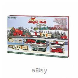 Bachmann Trains Jingle Bell Express HO Scale Ready-to-Run Electric Train Set