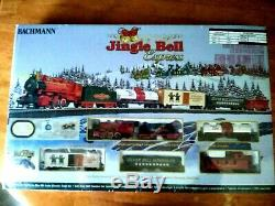 Bachmann Trains Jingle Bell Express HO Scale Ready-to-Run Electric Train Set NEW