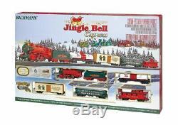 Bachmann Trains Jingle Bell Express Ready To Run Electric Train Set HO Scale