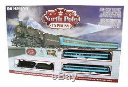 Bachmann Trains North Pole Express Ready To Run Electric Train Set HO Scale