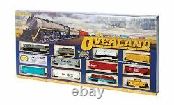 Bachmann Trains Overland Limited Ready To Run Electric Train Set HO Scale