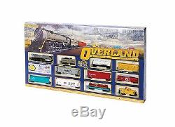 Bachmann Trains Overland Limited Ready To Run Ho Scale Train Set