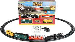 Bachmann Trains Pacific Flyer Ready To Run Electric Train Set HO Scale Track New
