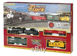 Bachmann Trains Pacific Flyer Ready to Run HO Train Set with EZ Track