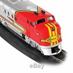Bachmann Trains Santa Fe Flyer HO Scale Ready-to-Run Electric Train Set 647-B