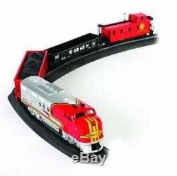Bachmann Trains Santa Fe Flyer Ready To Run Electric Train Set HO Scale