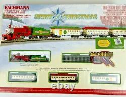 Bachmann Trains Spirit of Christmas N-Scale Train Set Complete & Ready to Run
