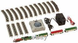 Bachmann Trains Spirit of Christmas Ready to Run Electric Train Set N Scale