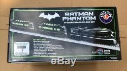Batman Phantom O-Gauge Ready To Run Lionel Trains Set DC Comics NEW