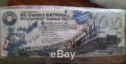 DC Comics Batman LIONCHIEF Ready-To-Run M7 Subway Set / O gauge