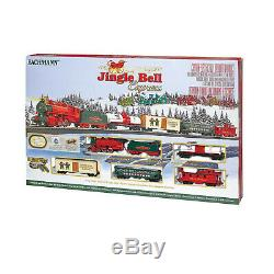 Electric Powered Model Train Set HO Scale Jingle Bell Express Ready To Run