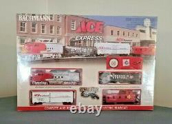 Electric Train Set Bachmann ACE Express Easy Track System Ready-to-Run HO Scale