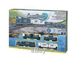 HO Coastliner Model Train Set Ready To Run 36 circle
