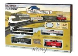 HO Thoroughbred Model Train Set Ready To Run 47 x 38 oval