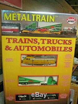 Ho Model Power Metaltrain Set No. 820 Ready To Run All Metal Train Set # 820