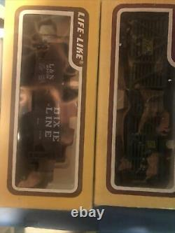 Ho train Set Layout Ready To Run Engines Freight Cars Track