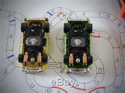 Huge 66' AFX Tomy Super G-Plus Giant Raceway Track Slot Car Set, Ready To Run