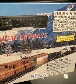 Ihc Gg-1 Millenium Express Ho Scale Ready-to-run Pennsylvania Custom Train Set
