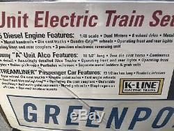 K Line K-1730 Lirr Greenport Scoot Ready To Run Train Set