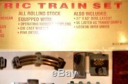 K-line Campbell's 125th Anniversary Six Unit Ready -to -Run Train Set-Never Run