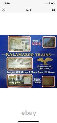 Kalamazoo Trains 19089 Santa's Express Complete G-Scale Ready-To Run Train Set