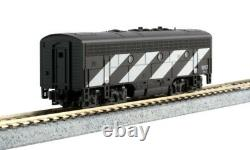 Kato 1060425DCC N EMD F7A + B Canadian National Set #9080 + 9057 with Ready to Run