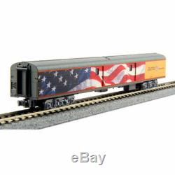 Kato-Union Pacific Excursion Train Lighted 7-Car Set Ready to Run - Union Pac
