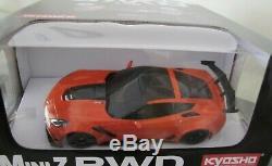 Kyosho Mini Z, MR03 RWD Readyset RTR, Chevrolet Corvette ZR1 orange (W-MM)
