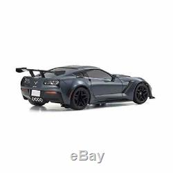 Kyosho Mini-Z RWD Chevrolet Corvette ZR1 Gray Ready Set RTR 32334GM with Tracking