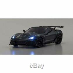 Kyosho Mini-Z RWD Chevrolet Corvette ZR1 Gray Ready Set RTR 4548565365456