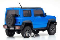 Kyosho RC Mini Z 4X4 Jimny Sierra BLUE METALLIC Ready Set RTR MX-01