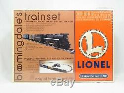 LIONEL 6-11841 Bloomingdale's Steam Freight set Ready to Run Sealed NIB