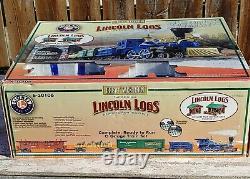LIONEL 6-30106 Great Western Lincoln Logs Ready-To-Run O Gauge Train Set NIB