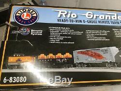 LIONEL 6-83080 Rio Grande Ready To Run O-Gauge Remote Train Set Exclusive Set