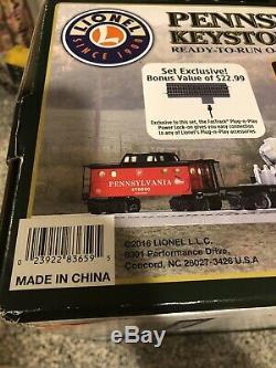 LIONEL 6-83659 Keystone Special Ready-to-Run Train Set O Gauge