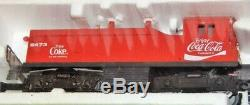 LIONEL COCA COLA DIESEL SWITCHER SET With4 CARS READY TO RUN 6-1463