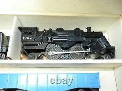 LIONEL O/027 #19500 TRAIN SET, COMPLETE, EXCELLENT, READY TO RUN, WithSET BOX