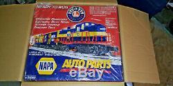 Last One! New Lionel Napa Auto Parts O Gauge Train Set Ready To Run 6-30083