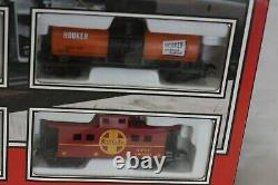 Life-Like HO Rail Runner Train Set 433-8635 NIB Complete and Ready To Run #8635