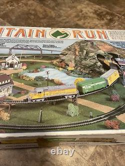 Life Like Mountain Run Electric Train Set 8794 Union Pacific 2047 Ready To Run