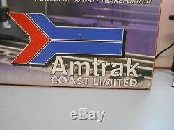 Lionel 30029 Amtrak Coast Limited Ready-To-Run Train Set O Gauge Lights & Sounds