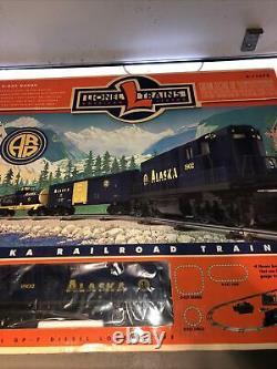 Lionel 6-11972 Alaska RR Ready-To-Run Diesel Freight Train Set New