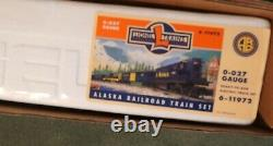 Lionel 6-11972 O/027 Alaska Railroad Ready to Run Train set. Mint in the box