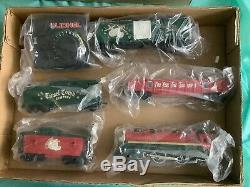 Lionel 6-21944 Ready to Run 0-27 Christmas Set with Extra Tracks