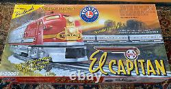 Lionel 6-30001 Santa Fe El Captian Ready-To-Run Train Set