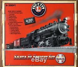 Lionel 6-30091 Santa Fe Freight Ready to Run Train Set (2008)Excellent Cond