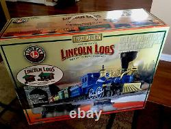 Lionel 6-30106 Great Western Lincoln Logs Ready to run play set
