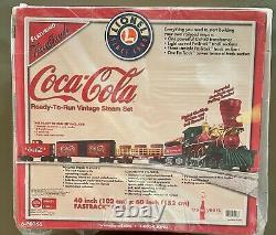 Lionel 6-30166 Coca-cola Ready-to-run Vintage Steam Set-mint