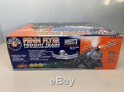 Lionel 6-30174 Pennsylvania Flyer O Gauge Ready To Run Set