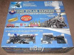 Lionel 6-30184 The Polar Express 0-8-0 Steam Freight ready to run set